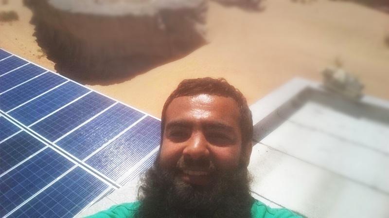Proyecto solar Restar 32KW en Jordania 2016